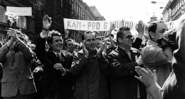 Prohlášení KAN k padesátému výročí okupace