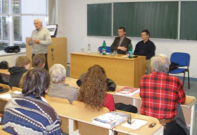 Přednáška na univerzitě