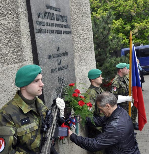 Připomínka obětí boje za svobodu
