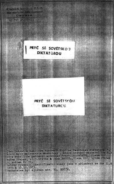 Neslavné výročí dne 21.srpna 1968
