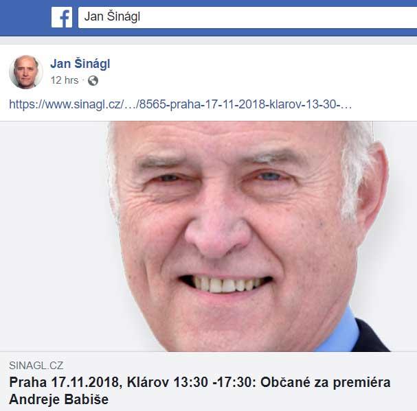 Můj projev v Přerově k 17.listopadu